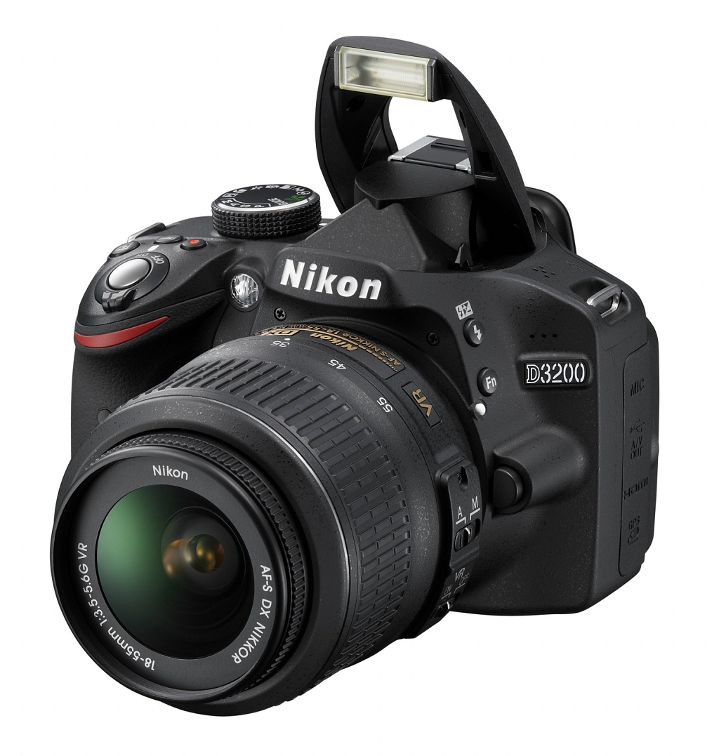 Nikon lanseaza un nou DSLR entry-level: D3200