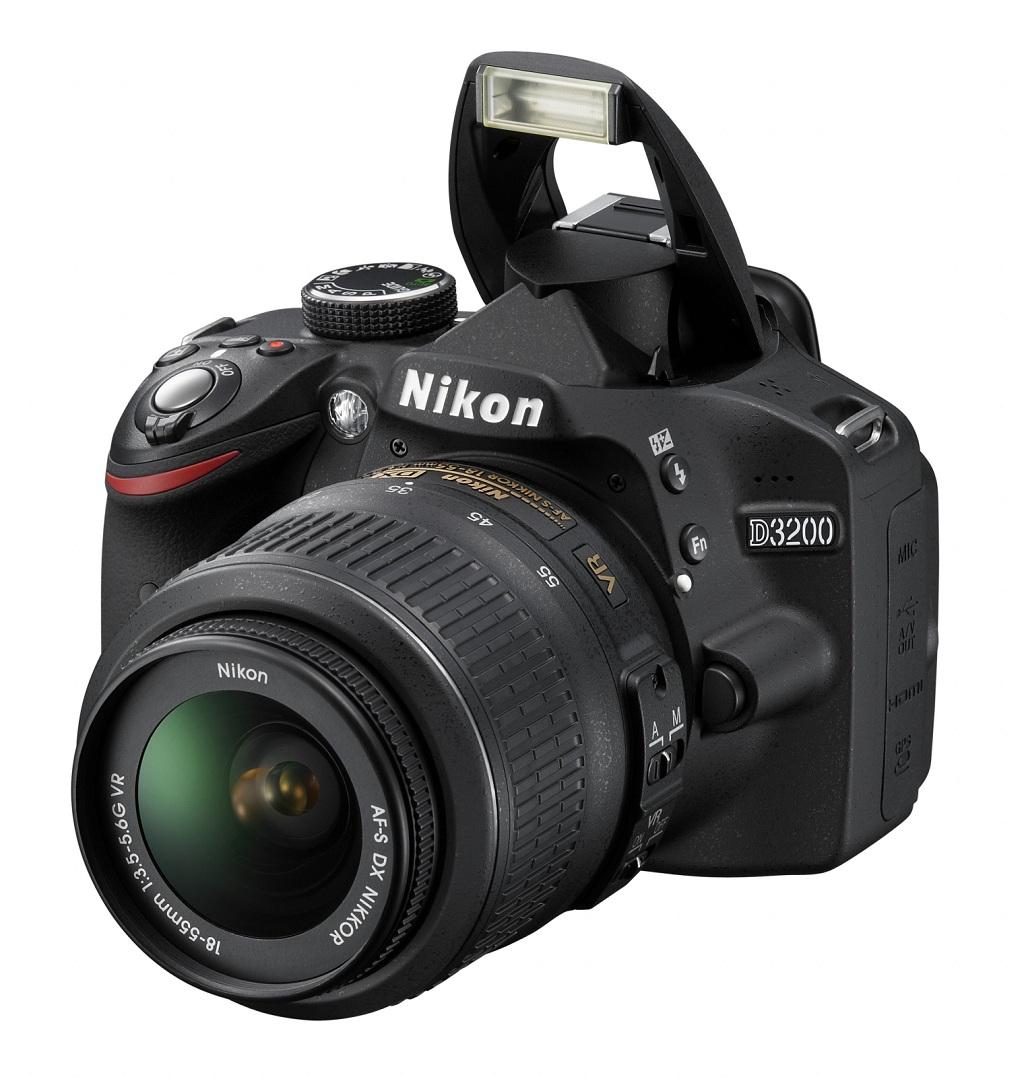 Nikon lanseaza un nou DSLR entry-level: D3200