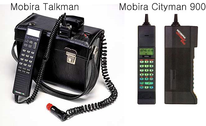 Telefon mobil Nokia Mobira Talkman si Mobira Cityman 900