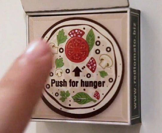Butonul de panica pentru… PIZZA!