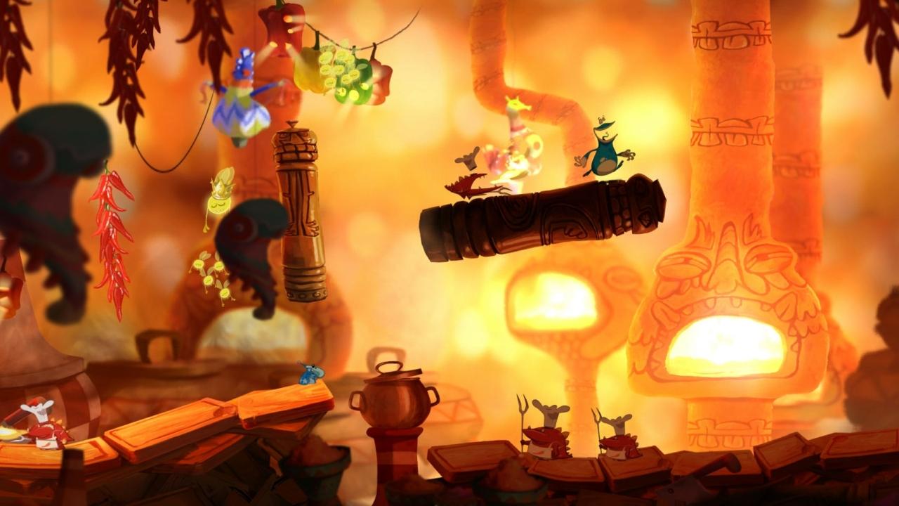Rayman Origins Sand Level