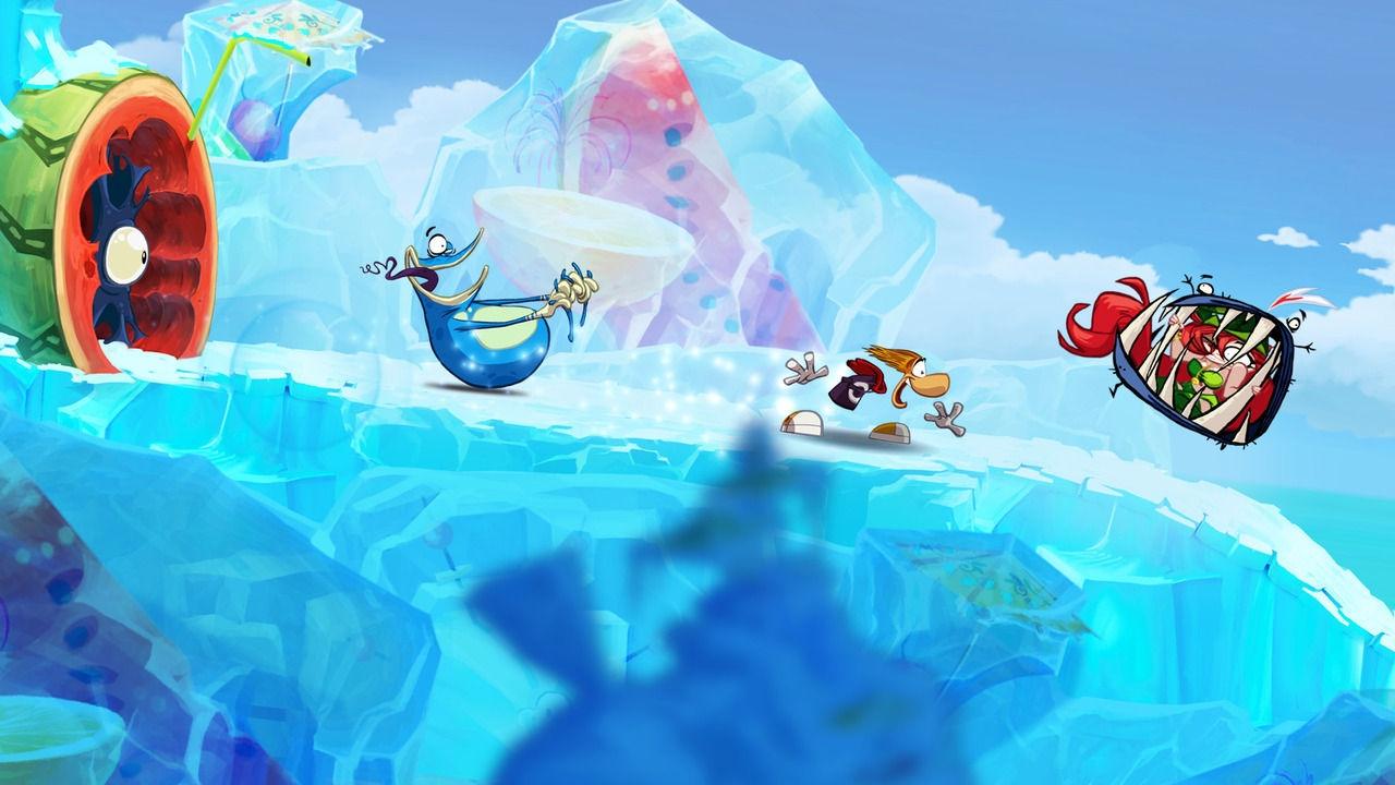 Rayman Origins ice level