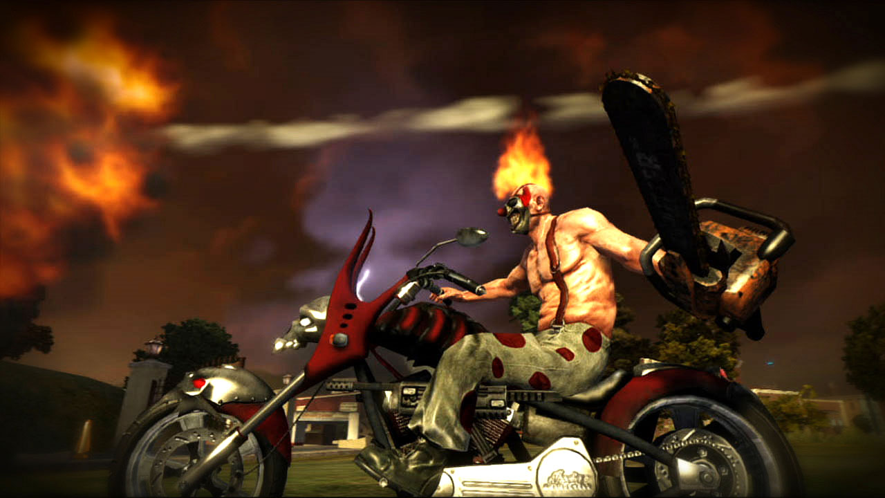 Twisted metal bike