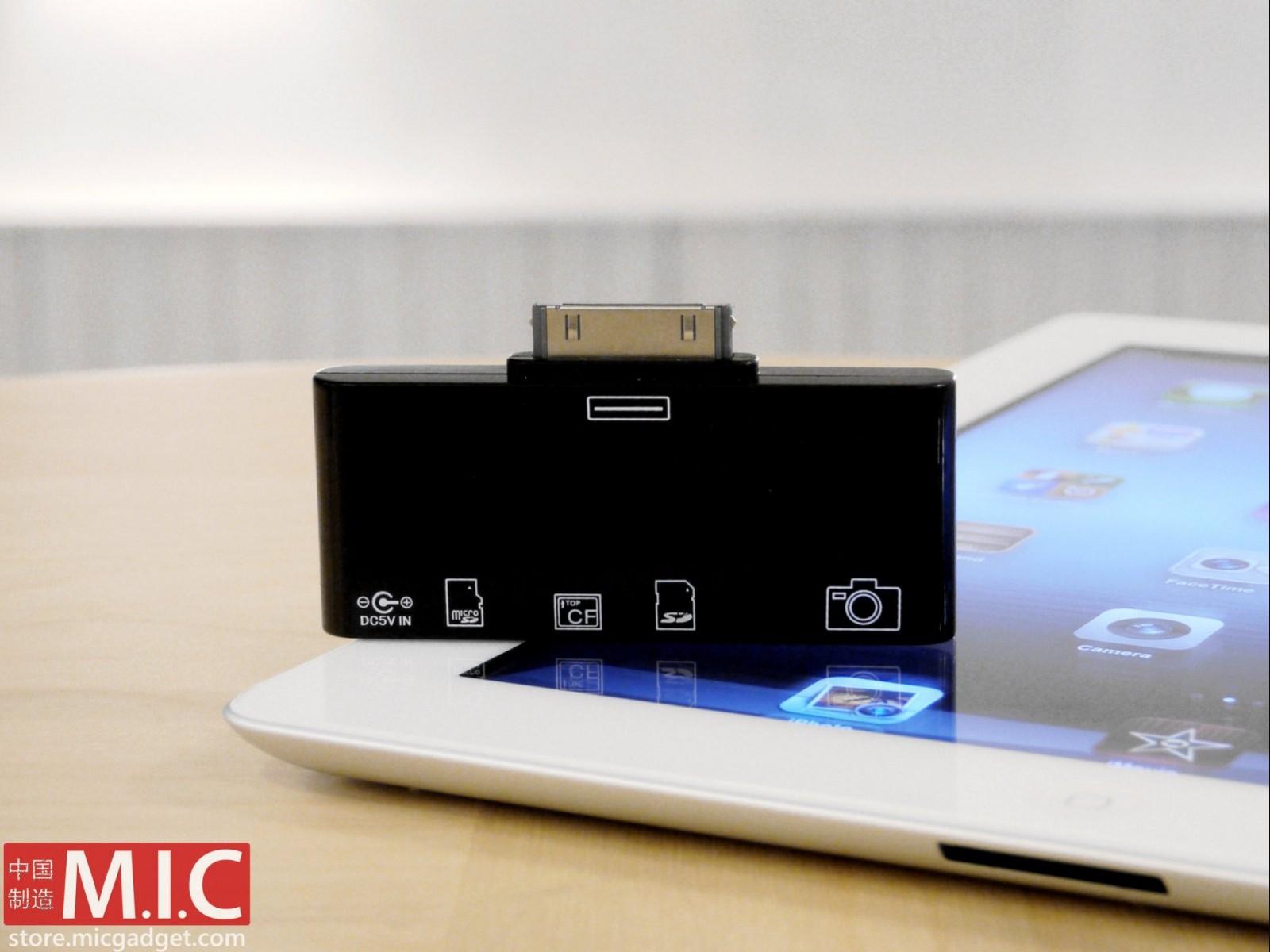 M.I.C Gadget lanseaza un card-reader pentru noul iPad