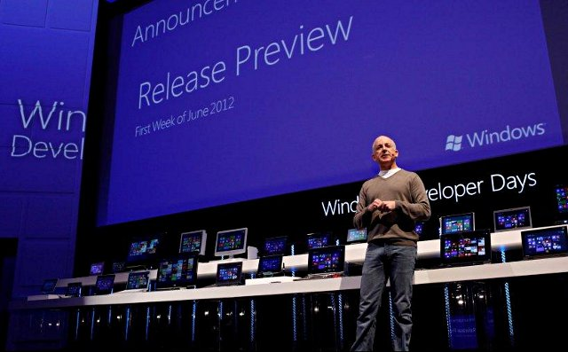 Windows 8 Release Preview in Iunie