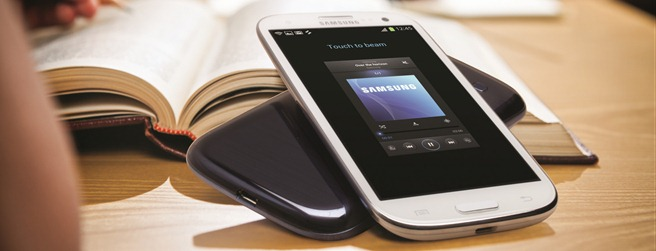 Samsung GALAXY S III S Beam Music sharing W