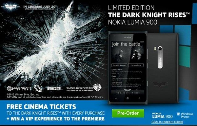 Batman Nokia Lumia 900