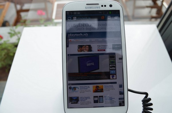 Samsung galaxy SIII Internet Browser