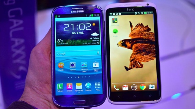 Samsung Galaxy S III VS HTC One