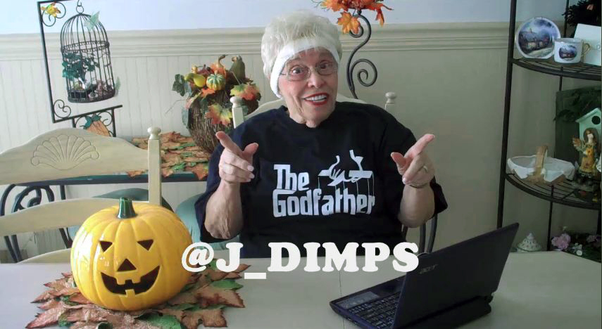 Bunicuta de 80, cu ambitii mari pe Twitter