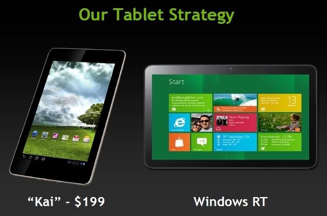 NVIDIA vrea tablete quad core de 200 dolari