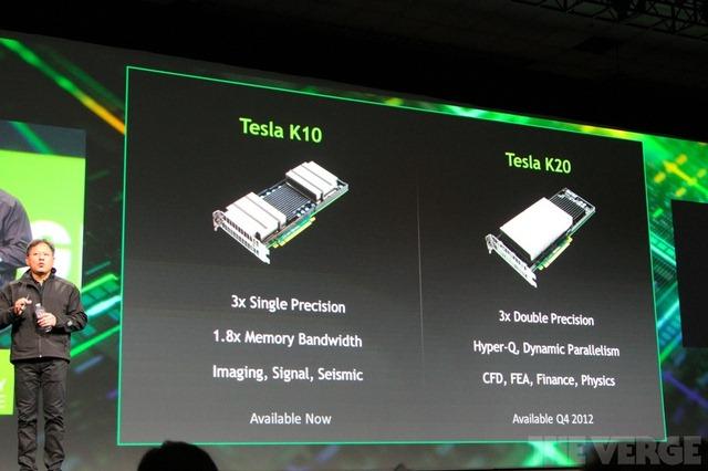 NVIDIA anunta doua placi video noi pentru proiectare: Tesla K10 si K20