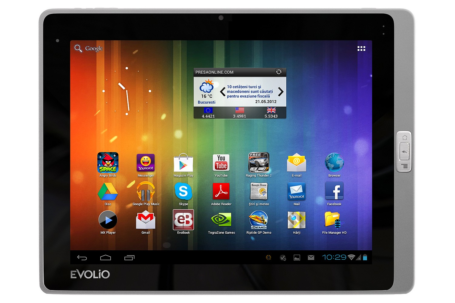 Tabletele Evolio trec la Android 4.0
