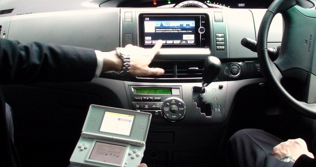 Nintendo DS e bun de navigatie in noile Toyota