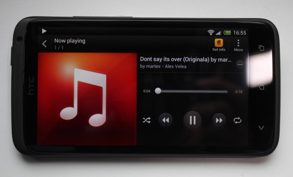 Player Audio HTC One X