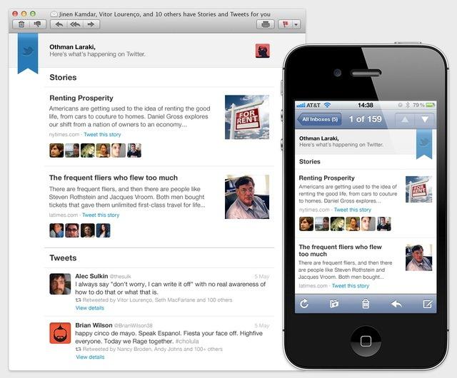 "Twitter face newslettere cu ""best of"""