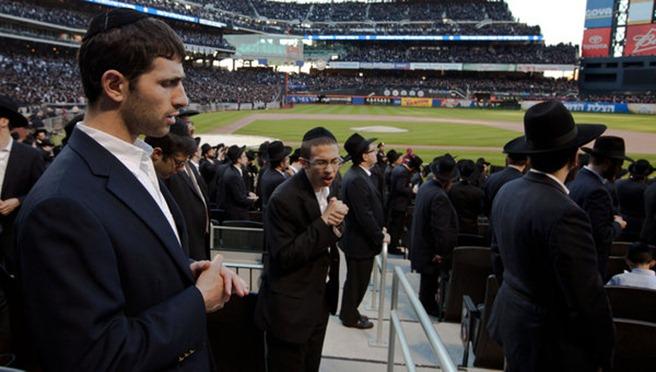 evrei pe stadion