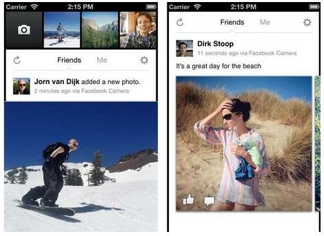 Facebook Camera – o alta aplicatie de facut poze