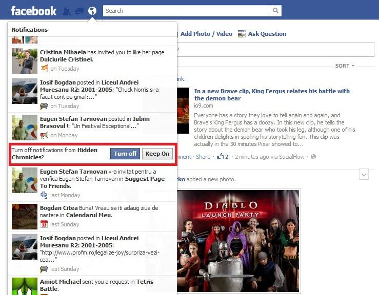 Notificarile Facebook, in sfarsit, rezolvate!