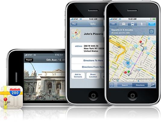 Apple ar putea renunta la Google Maps in iOS 6