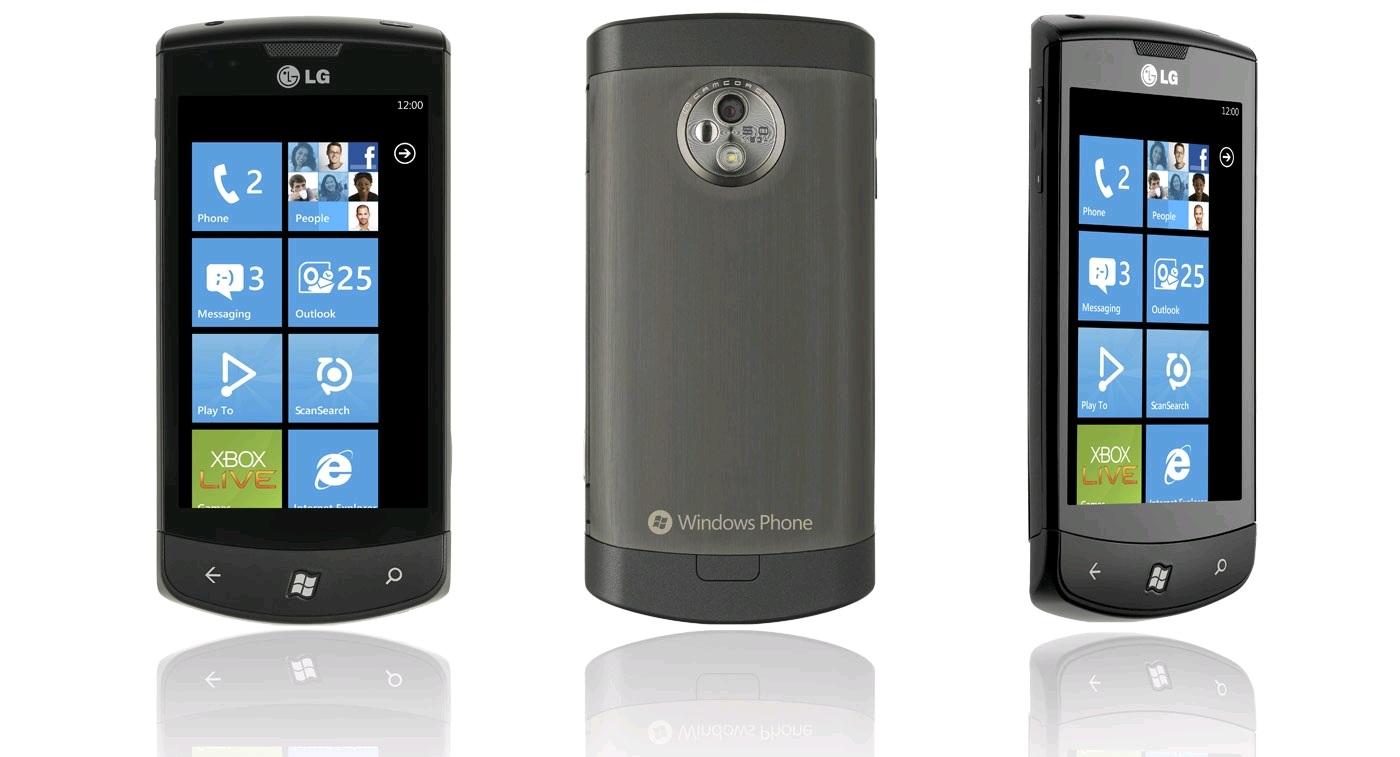 lg windows phone 7