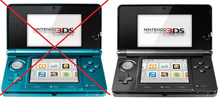 Nintendo renunta la 3DS-ul albastru