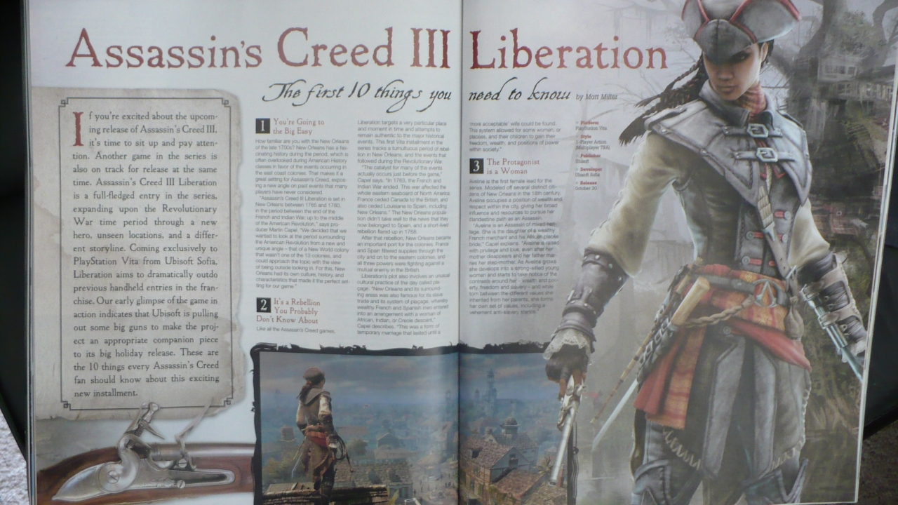 PlayStation Vita primeste un Assassin's Creed diferit?