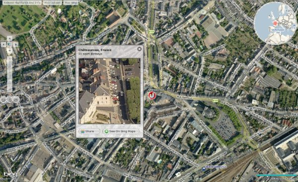 Bing Maps a suferit un update major