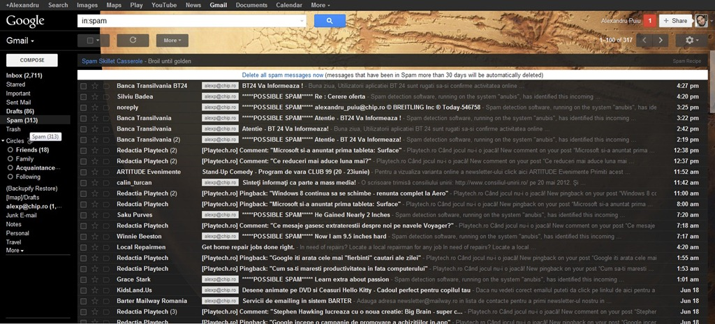 Google isi aduce aminte de Gmail – adauga imbunatatiri