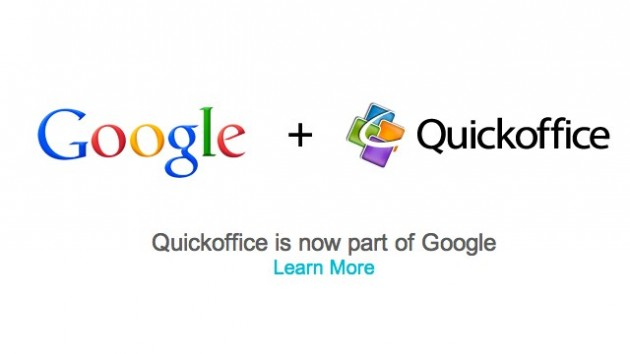 Google a cumparat Quickoffice