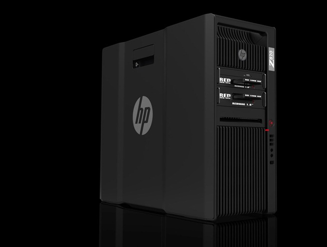 HP 820 Tower Red