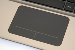 HP Folio 13 touchpad