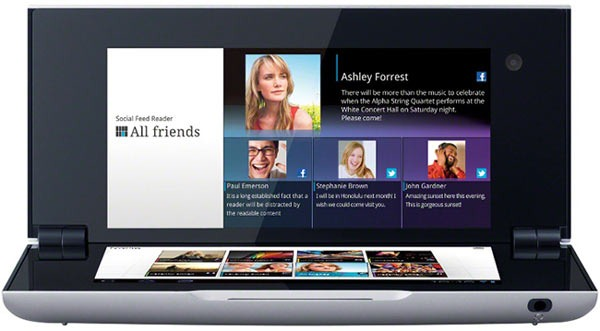 Sony Tablet P a primit update-ul la ICS