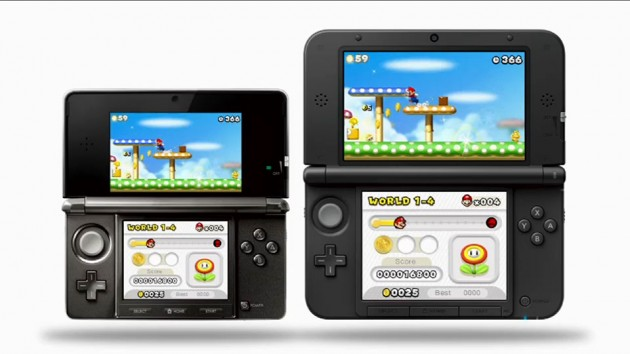 Nintendo 3DS vs. Nintendo 3DS XL