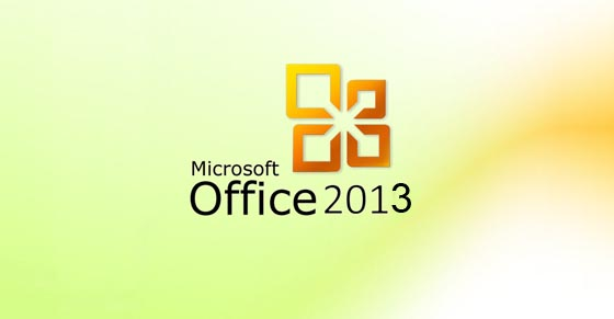 Office 2013 logo intro