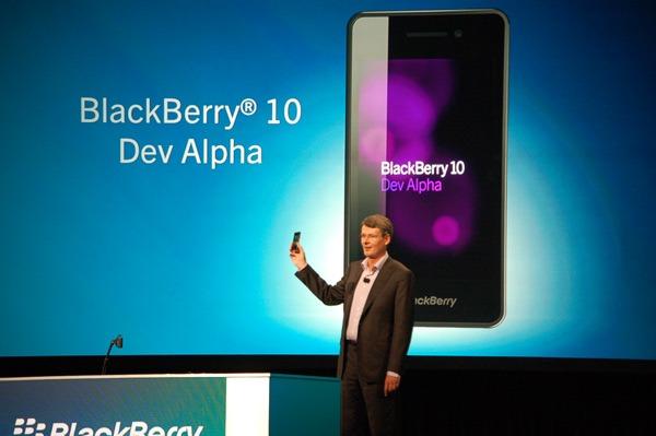 blackberry os 10 dev alpha