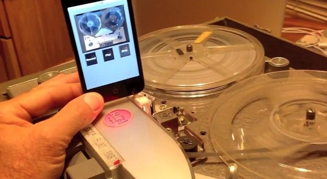 Un iPod a fost folosit pentru a reda benzi de magnetofon