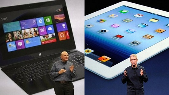 Microsoft Surface vs. iPad