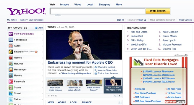 yahoo news apple