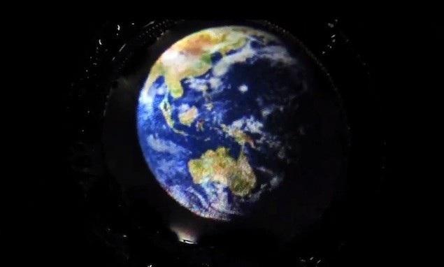 Cel mai subtire display din lume este facut din baloane de sapun [+Video]