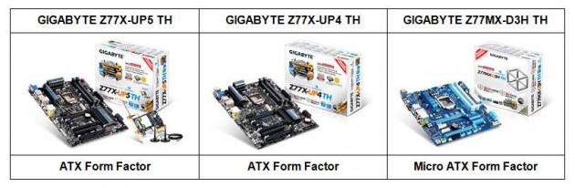 Gigabyte Thunderbolt Mainboard