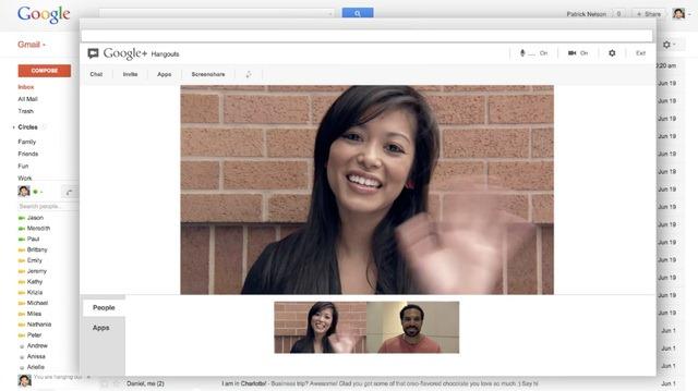 Google da drumul la Hangouts direct din Gmail