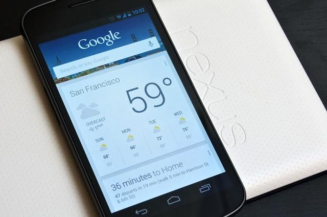 Cu mici dificultati, Google Now merge pe ICS