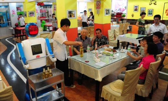 Primul restaurant robotizat se deschide in China