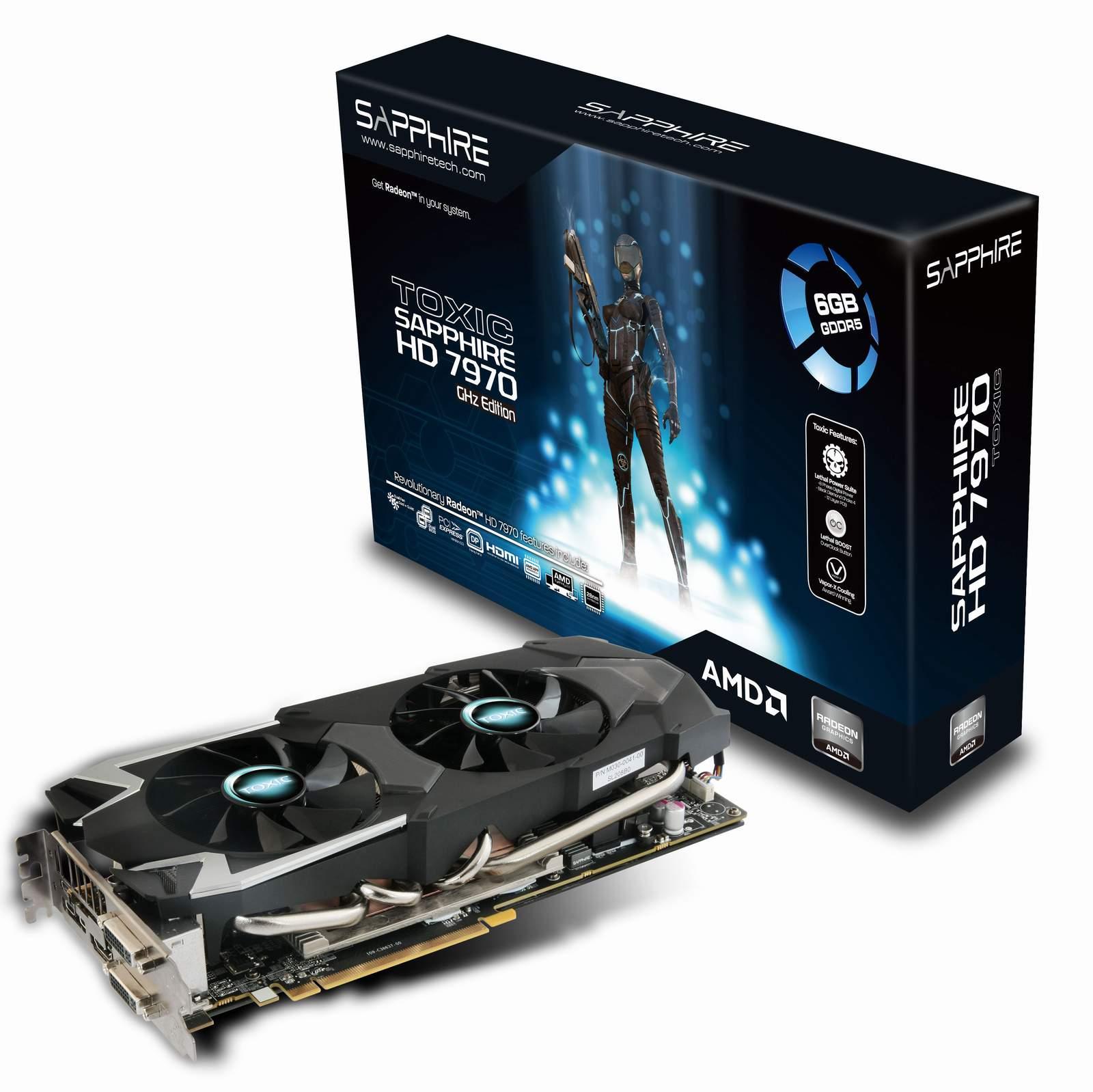 Sapphire lanseaza HD 7970 6GB TOXIC
