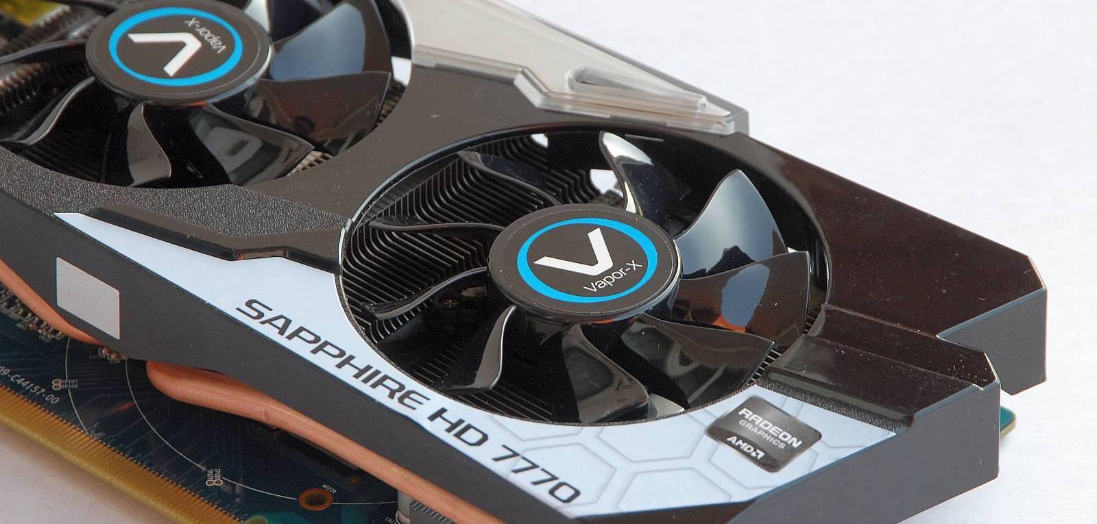 Sapphire Radeon HD 7770 Vapor-X GHz Edition – Un nume mare pentru o placa mica [REVIEW]