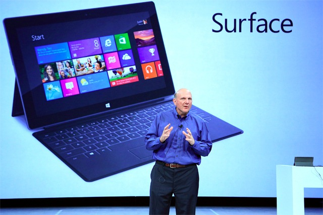 Balmer nu are incredere in Surface ca succes de masa