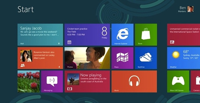 Windows 8 hardware acceleration