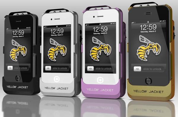 Yellow Jacket iti transforma iPhone-ul in arma de autoaparare [+VIDEO]