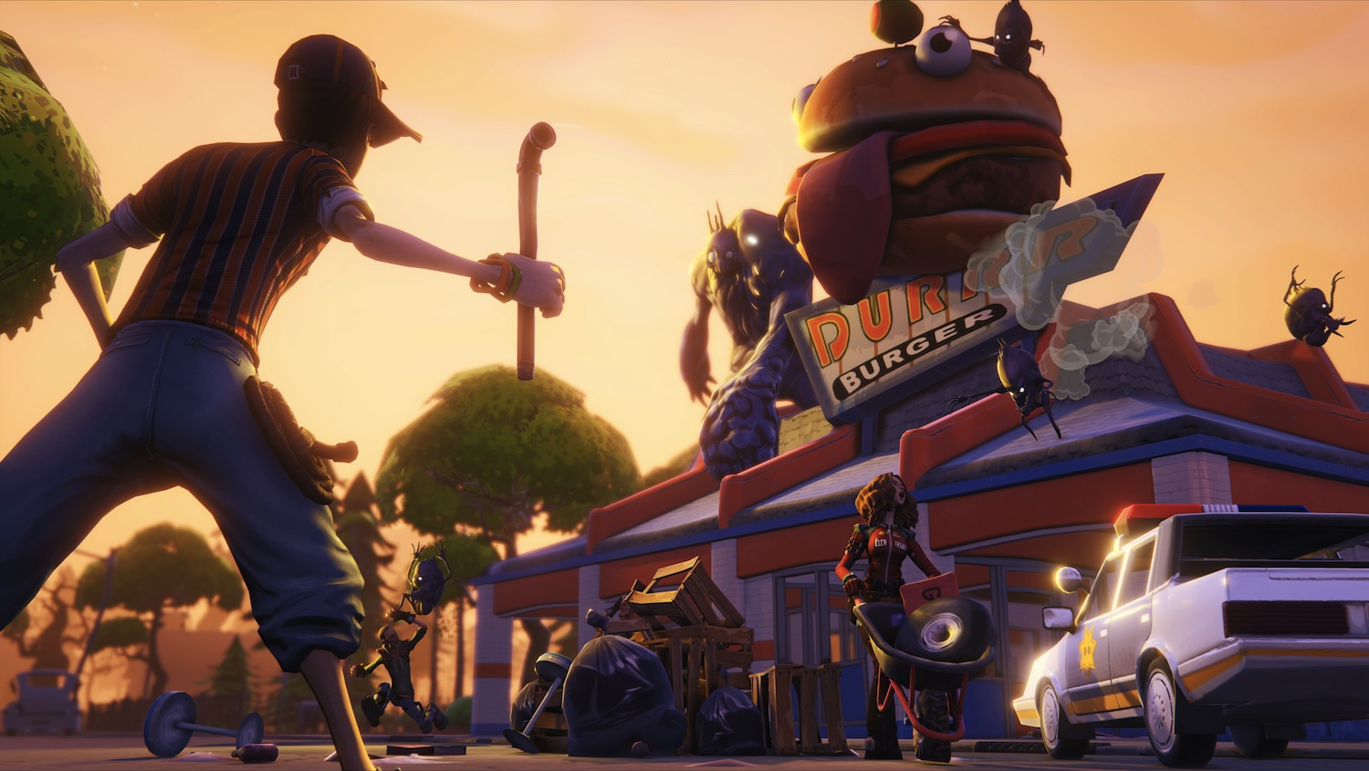 Unreal Engine 4 debuteaza cu Fortnite